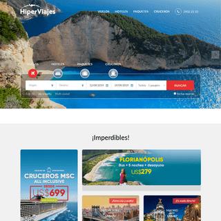 HiperViajes - Ofertas de vuelos, hoteles, paquetes y más