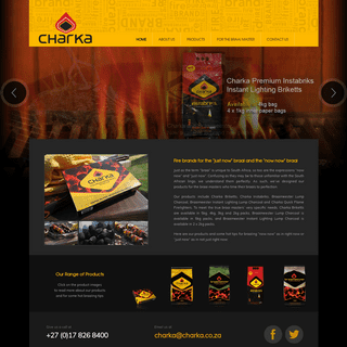 Charka - Charcoal, Briquettes & Firelighters for the Perfect Braai