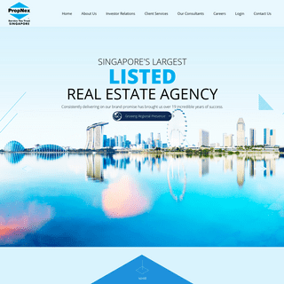 PropNex - Singapore's Largest Listed Real Estate Agency