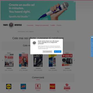 Toate-ofertele.ro - cataloage și oferte actuale de la magazine și supermarketuri