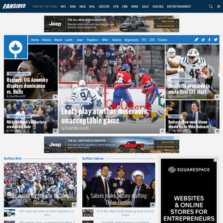 Tip of the Tower - A Toronto Sports Site - Maple Leafs, Blue Jays, Raptors, Toronto FC, Raptors and Argonauts