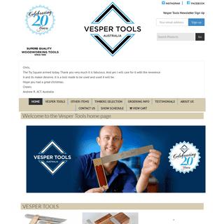 ArchiveBay.com - vespertools.com.au - Vesper Tools – Superb Quality Woodworking Tools – Since 1998