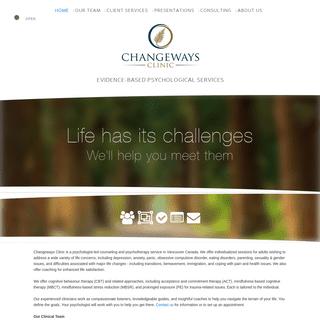 Changeways Clinic