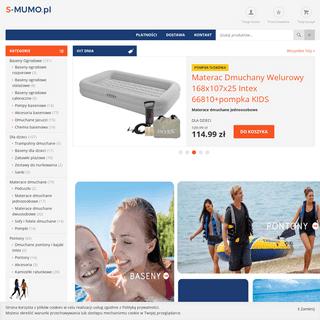 Tanie baseny ogrodowe - sklep internetowy - S-MUMO