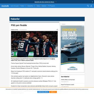 PSG yarı finalde - Mackolik.com