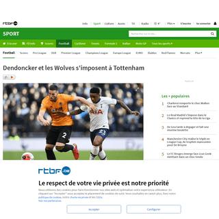 Dendoncker et les Wolves s'imposent à Tottenham