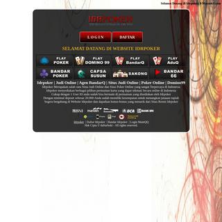 Idrpoker Situs BandarQ Agen Poker Online Terpercaya
