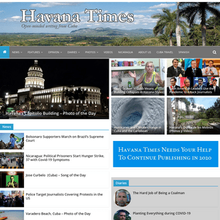 Havana Times - open-minded writing from Cuba