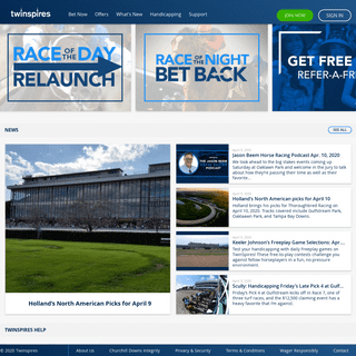 Horse Racing Betting - Bet Online with TwinSpires