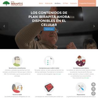 Ibirapitá – Uruguay - Plan de inclusión digital de jubilados