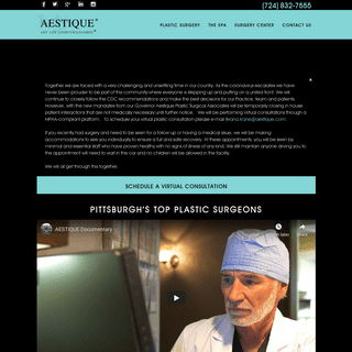 ArchiveBay.com - aestique.com - Aestique – Pittsburgh's Top Plastic Surgery Center