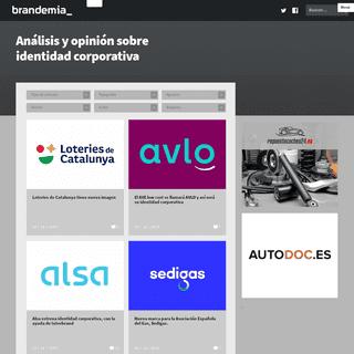 Brandemia_ - El portal en castellano sobre branding, marcas, identidad corporativa, logotipos…
