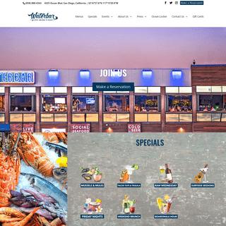 Waterbar San Diego - Pacific Beach Restaurant & Bar with an Ocean View