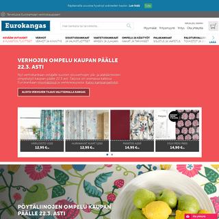 Eurokangas - Kankaat ja verhot netistä - www.eurokangas.fi