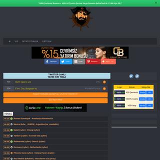 Taraftarium24 - Canlı maç izle - BeinSports İzle