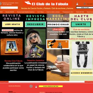 Revistas de ciencia ficción y fantasía.