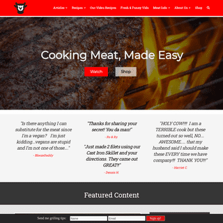 ArchiveBay.com - redmeatlover.com - Red Meat Lover - Recipes, Articles, & Photos for Meat Lovers
