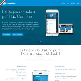 Municipium - L'app completa per il tuo Comune