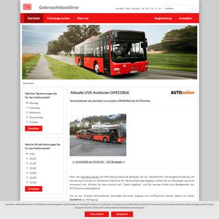 Startseite - DB Gebrauchtbus