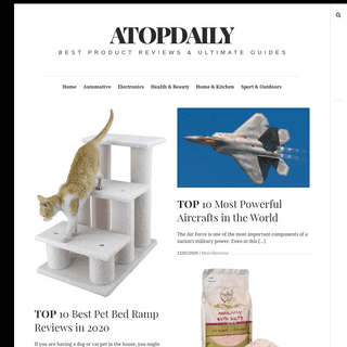 ATOPDAILY - Best Product Reviews & Ultimate Guides