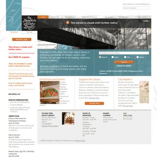 Home - New York Society Library
