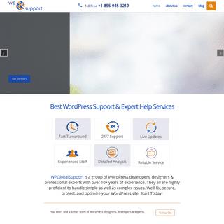Best WordPress Support Expert Help Services +1-855-945-3219