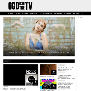 God Is In The TV Zine- independent music & culture