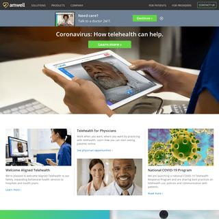 Amwell- Telemedicine Technology Solutions