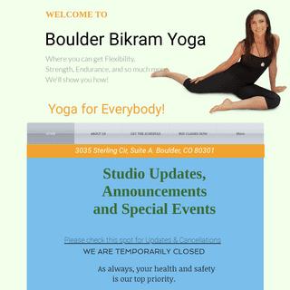Boulder Bikram Yoga