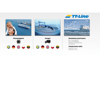 Ferries between Germany, Poland, Lithuania & Sweden - TT-Line