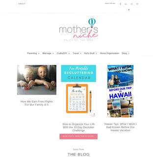 ArchiveBay.com - mothersniche.com - Mother's Niche - Enjoying the Ride