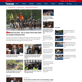 Tin mới nhất - Đọc báo tin tức mới trong ngày - TTĐT Tin Mới