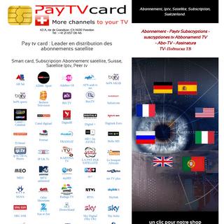 Pay tv card, Smart card, Subscription Abonnement satellite, Suisse, ab bis tv, Sky, suisse,bis,Kartina tv