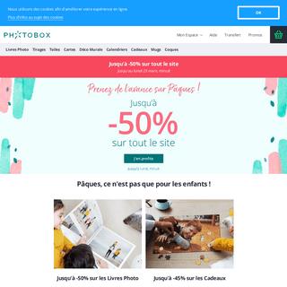 Photobox - Des idées pour valoriser vos photos préférées