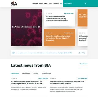 BIA - Homepage