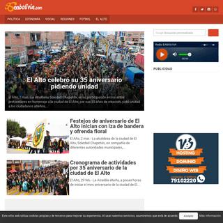 EA Bolivia- Noticias e Información desde El Alto