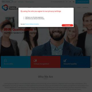 LRN Global – Learning Resource Network