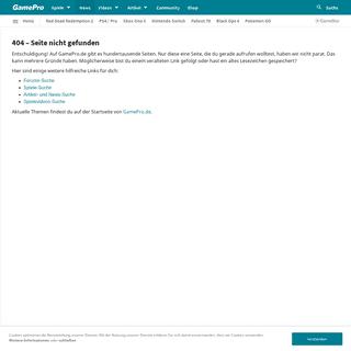 ArchiveBay.com - www.gamepro.de/artikel/sims-5-ea-multiplayer-next-gen - 404 – Seite nicht gefunden – GamePro