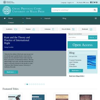 University of Wales Press - UWP