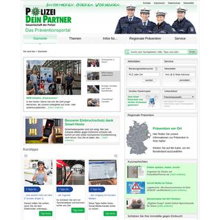 PolizeiDeinPartner - das Präventionsportal
