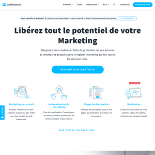 ArchiveBay.com - getresponse.fr - Logiciel de marketing par e-mail et auto-répondeur avec GetResponse