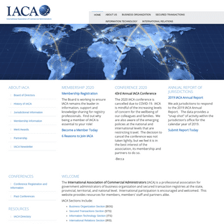 ArchiveBay.com - iaca.org - IACA – International Association of Commercial Administrators
