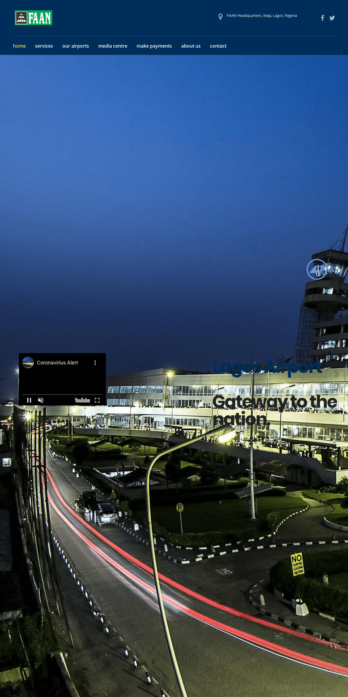 Federal Airports Authority of Nigeria – Federal Airports Authority of Nigeria