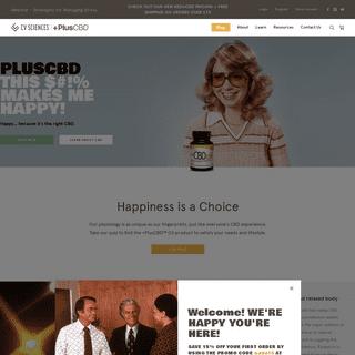 PlusCBD™ Oil - CBD Hemp Oil for Sale- Buy Natural CBD