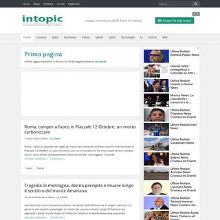 Intopic - Scopri il Panorama Informativo Italiano