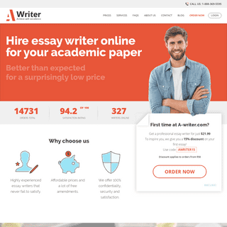 ArchiveBay.com - a-writer.com - 🎓 Hire Best Essay Writer for Your Academic Paper