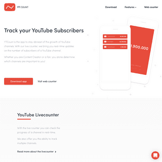 YTCount — Track real-time YouTube subscribers with our Live Counter