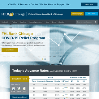 Federal Home Loan Bank of Chicago - FHLBC