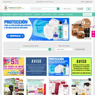 ArchiveBay.com - farmaciaencasaonline.es - Farmacia en Casa Online - Farmacia Online - Parafarmacia Online.