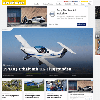 aerokurier - Das Piloten-Magazin - aerokurier